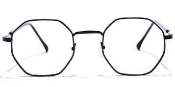 Hexagon Eyeglasses