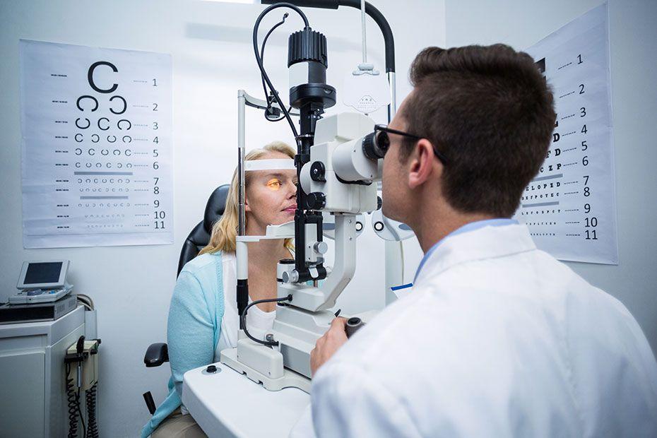 Advanced Eye Testing Equipment
