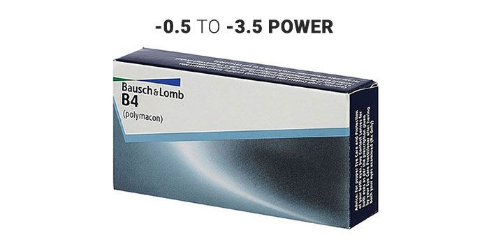 Blister Trads Contact Lens B4 Spherical Yearly By Bausch and Lomb(Pack Of 1)