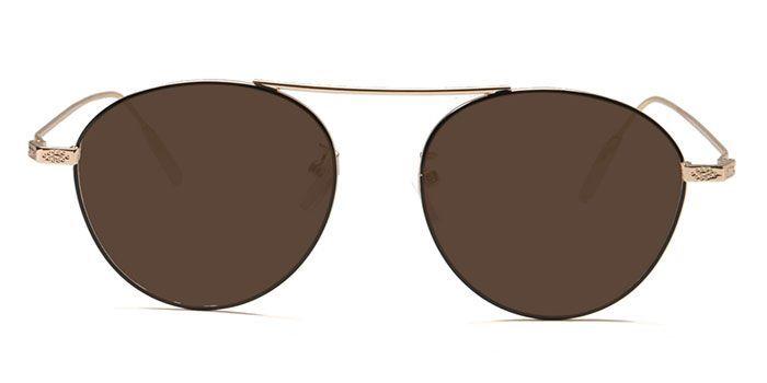 NERDLANE by EyeMyEye E12A1432 Glossy Black Full Frame Round Color Blind Glasses