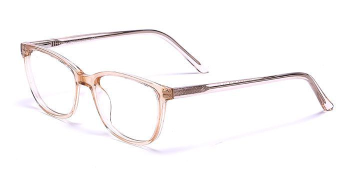 VISTAZO by EyeMyEye E15C1393 Brown Full Frame Color Changing Retro Square Eyeglasses for Men and Women