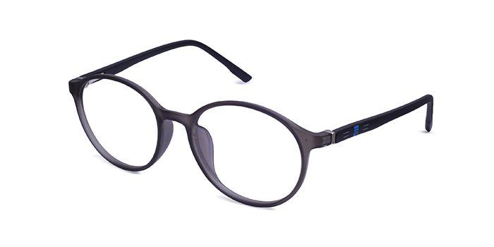 IZIBUKO by EyeMyEye E16C2431 Grey Full Frame Round Eyeglasses for Men and Women