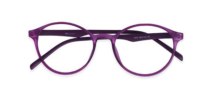 IZIBUKO by EyeMyEye E17A2469 Purple Full Frame Round Eyeglasses for Women