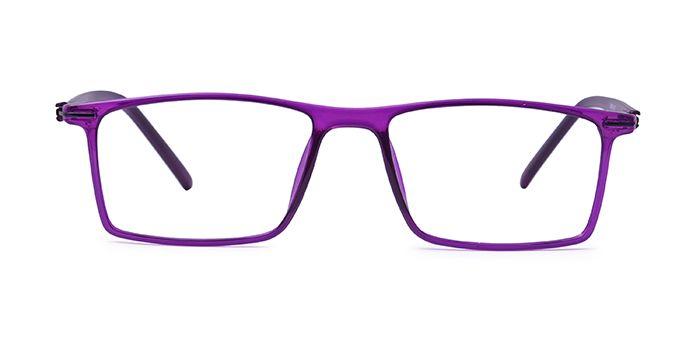VISTAZO by EyeMyEye E17C2302 Violet Full Frame Rectangle Eyeglasses for Women