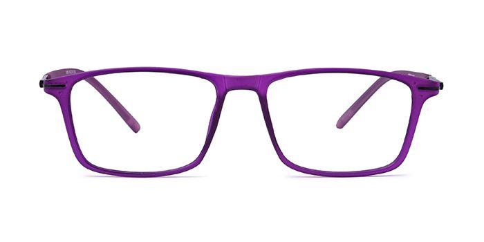 VISTAZO by EyeMyEye E17C2305 Purple Full Frame Rectangle Eyeglasses for Women