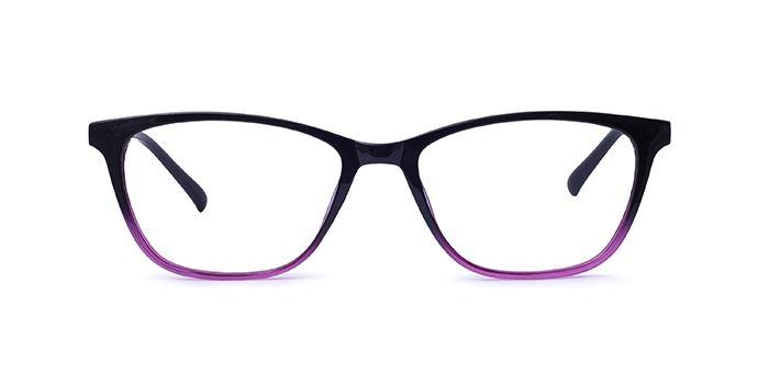IZIBUKO by EyeMyEye E17C2455 Purple Full Frame Retro Square Eyeglasses for Women