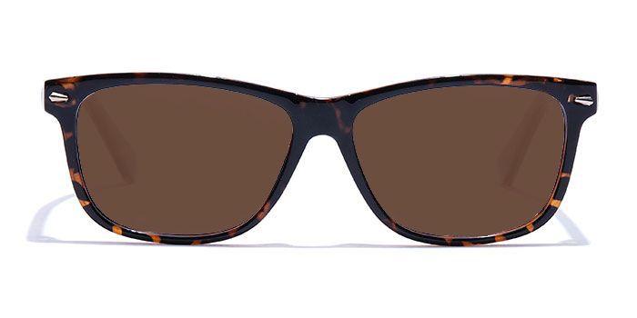 NERDLANE by EyeMyEye E18B2217 Glossy Tortoise Full Frame Retro Square Color Blind Glasses