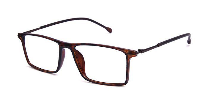 VISTAZO by EyeMyEye E18B2298 Tortoise Full Frame Rectangle Eyeglasses for Men and Women