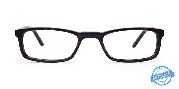 SEVENTH STREET Tortoise Full Frame Rectangle Eyeglasses for Men