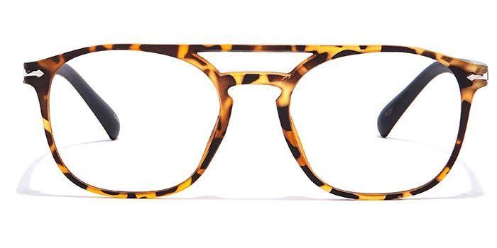 NERDLANE by EyeMyEye E18C2347 Tortoise Full Frame Retro Square Computer Glasses for Men and Women