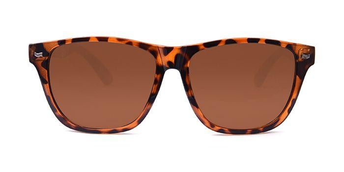 MTV ROADIES Tinted Brown Retro Square Sunglasses for Men and Women
