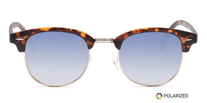 ALF by EyeMyEye S20C0054 Blue Polarized Clubmaster Sunglasses for Men and Women