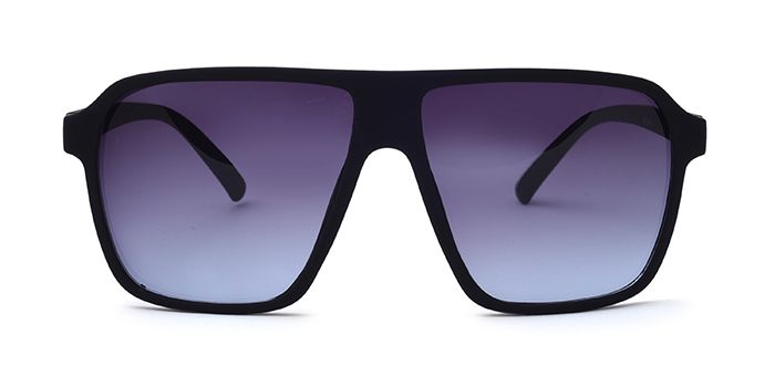 ALF by EyeMyEye S66A0998 Smoke Tinted Retro Square Sunglasses for Men and Women