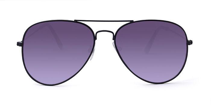 ALF by EyeMyEye S66A1018 Smoke Tinted Pilot Sunglasses for Men and Women